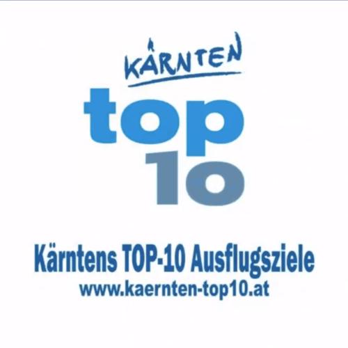 Kärntens TOP 10 Sehenswürdigkeiten für Wörthersee - Logo und Info