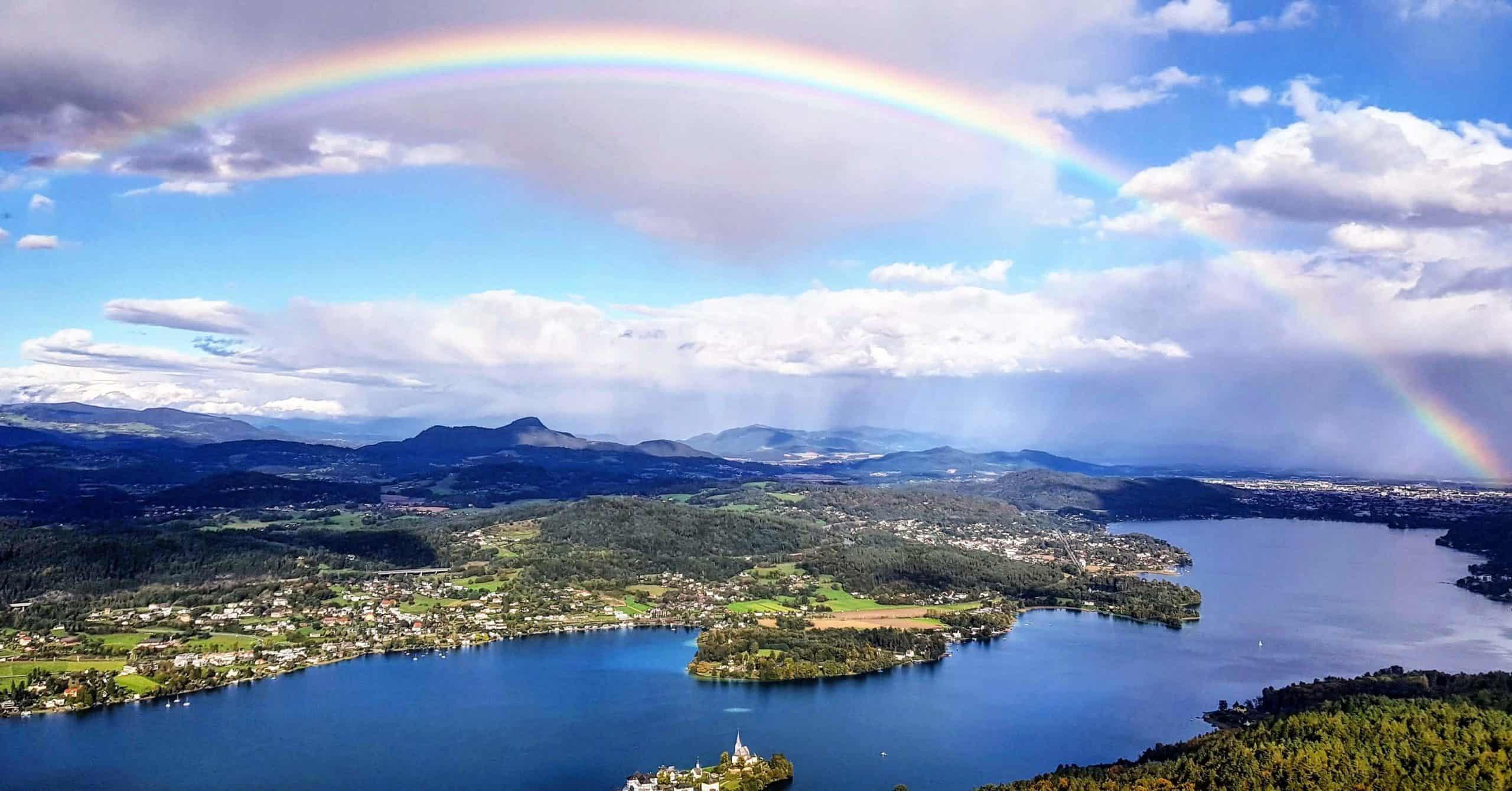 Wörthersee Regenbogen