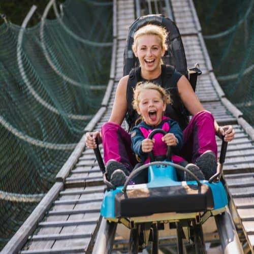 Ausflugsziele in Kärnten für Kinder & Familien - Action am Nocky Flitzer