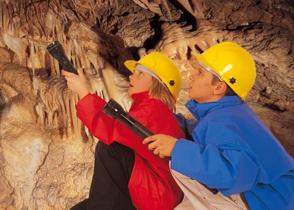Toll für Familien bei jedem Wetter - Obir Tropfsteinhöhlen in Südkärnten