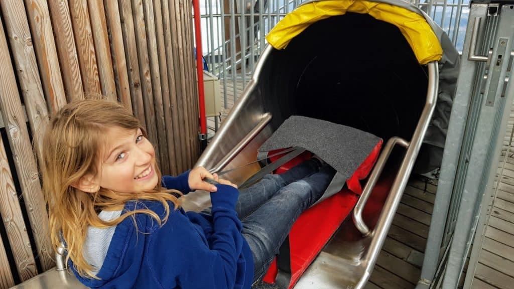 Ausflüge mit Kindern auf den Pyramidenkogel in Kärnten am Wörthersee