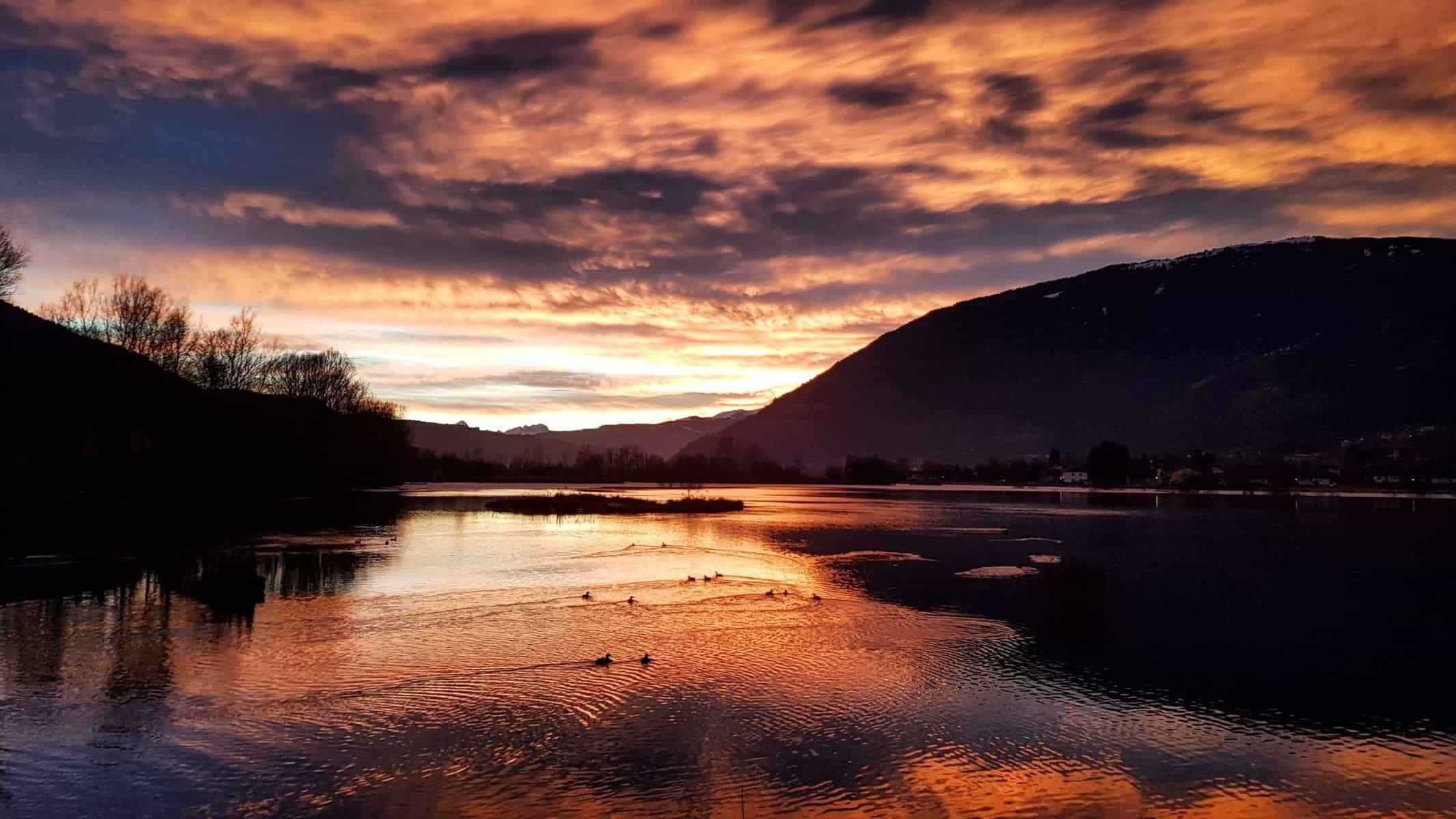 Rund um den Ossiacher See in Kärnten