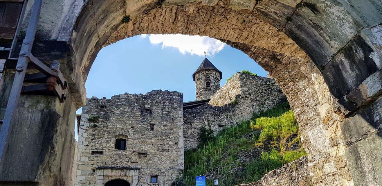 Burg und Ruine Landskron in Kärnten