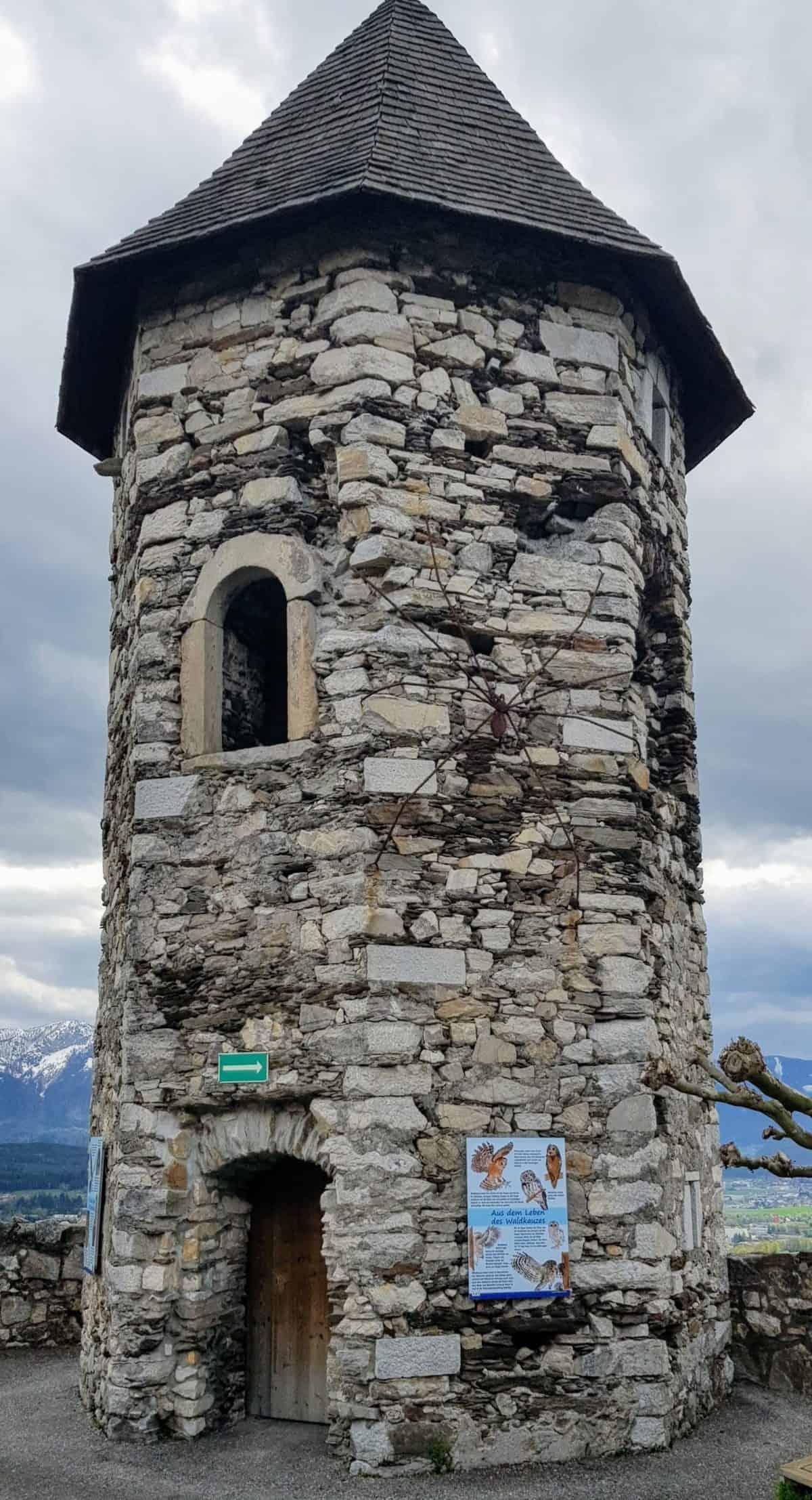 Burgruine Landskron bei Villach - Sehenswürdigkeit in Kärnten