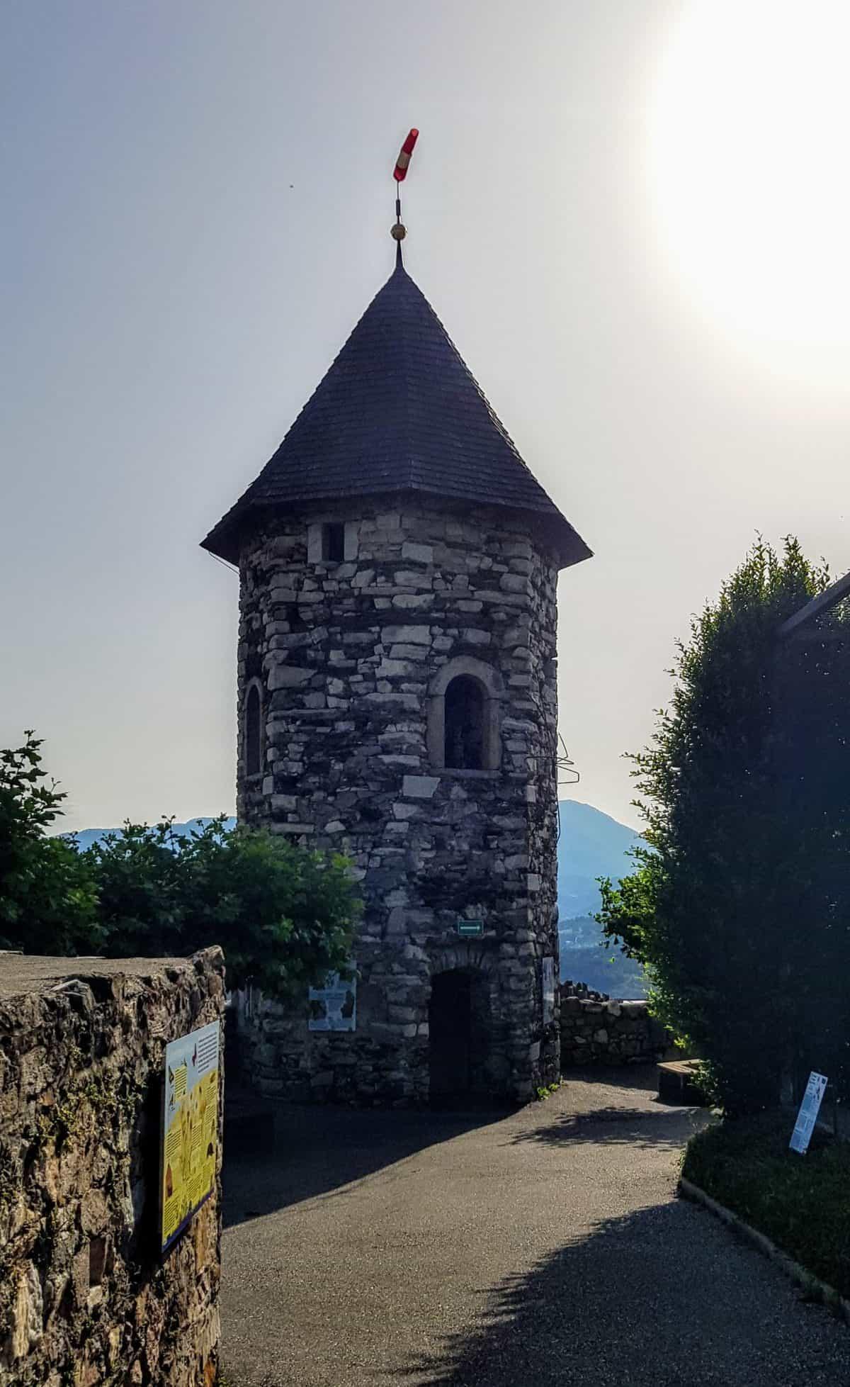 Burg Landskron in Kärnten, Österreich