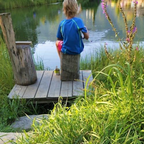Angeln mit Kinder in Kärnten - Familienerlebnis in Villach-Ossiacher See