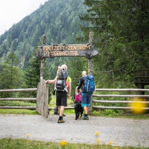 Freizeitzentrum Seebachtal - Outdoor-Spielplatz für Familien im Nationalpark Hohe Tauern in Kärnten bei Ankogelbahn