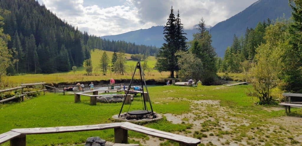 Geheimtipp Fluss Familienaktivitäten Mallnitz Seebachtal Stappitzer See Kärnten