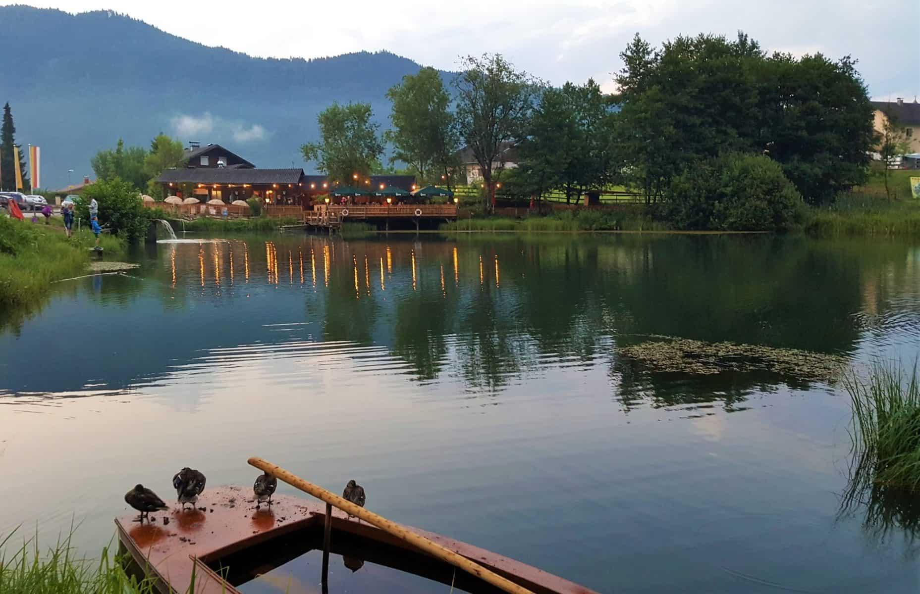 Angelteich am Ossiacher See - Tipp für Familienaktivitäten in Kärnten, Österreich