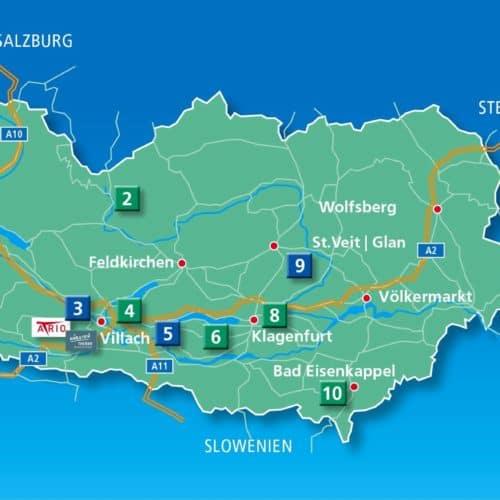 Die schönsten Sehenswürdigkeiten in Kärnten - Kärntens TOP 10 Ausflugsziele