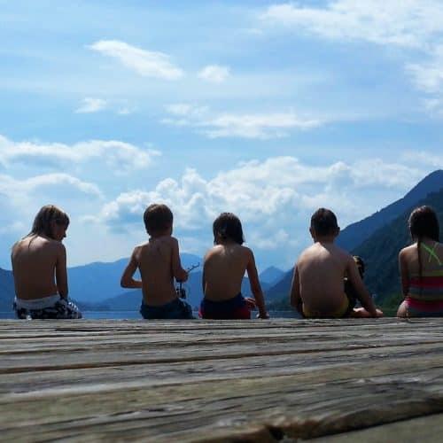 Badeparadies für Kinder und Familien in Kärnten - über 200 Badeseen mit Trinkwasserqualität