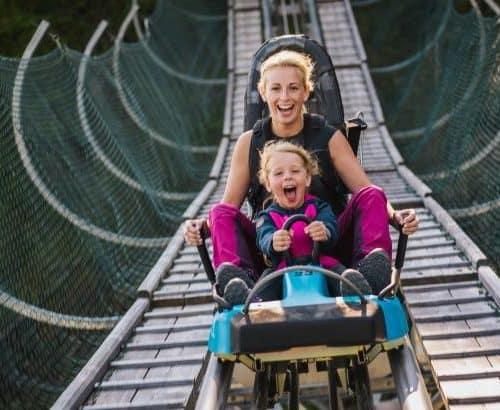 Action für die ganze Familie im Nocky Flitzer - TOP Ausflugsziel & Rodelbahn für Sommer und Winter auf der Turracher Höhe zwischen Kärnten & Steiermark