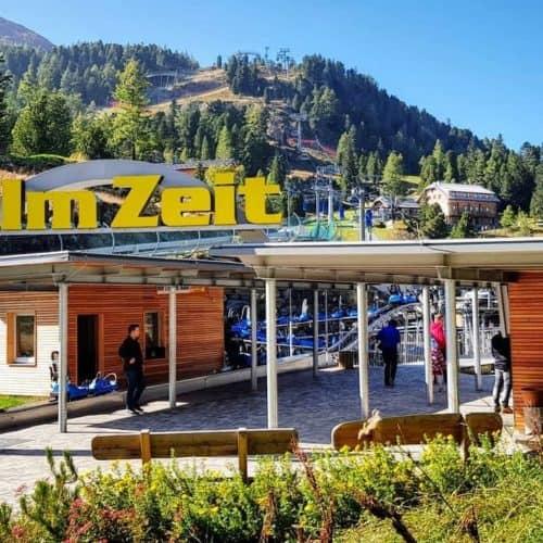 Panoramabahn auf Turracher Höhe zur Kindererlebniswelt und Rodelbahn Nocky Flitzer