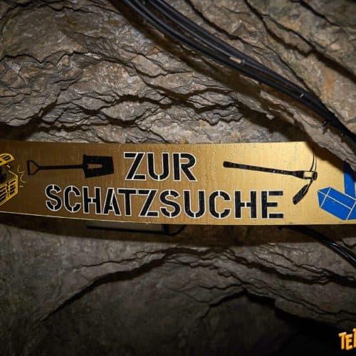 Schatzsuche im Schaubergwerk Terra Mystica bei Villach. Ausflugsziel für Familien bei Regenwetter in Kärnten