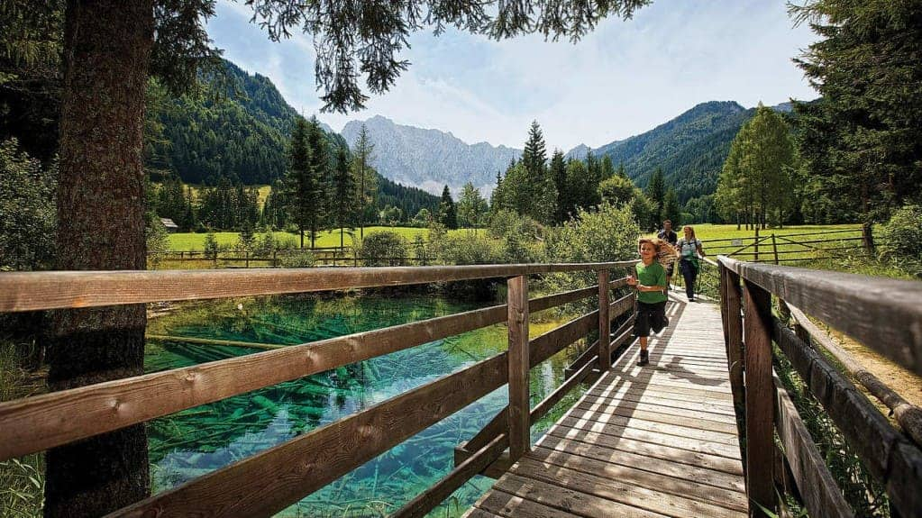 Rosental Kärnten Carnica Region Karawanken - Ausflugsziel Meerauge