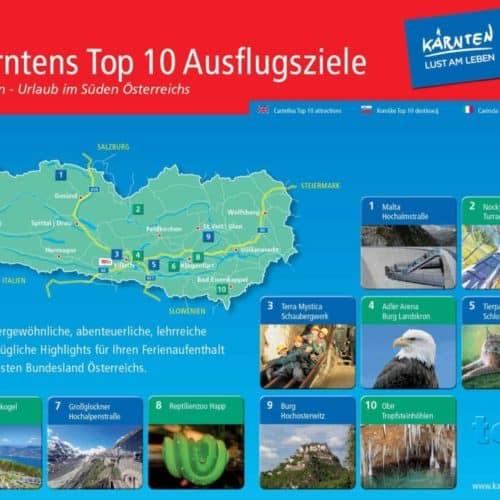 Kärntens TOP Ausflugsziele für Familien und Kinder
