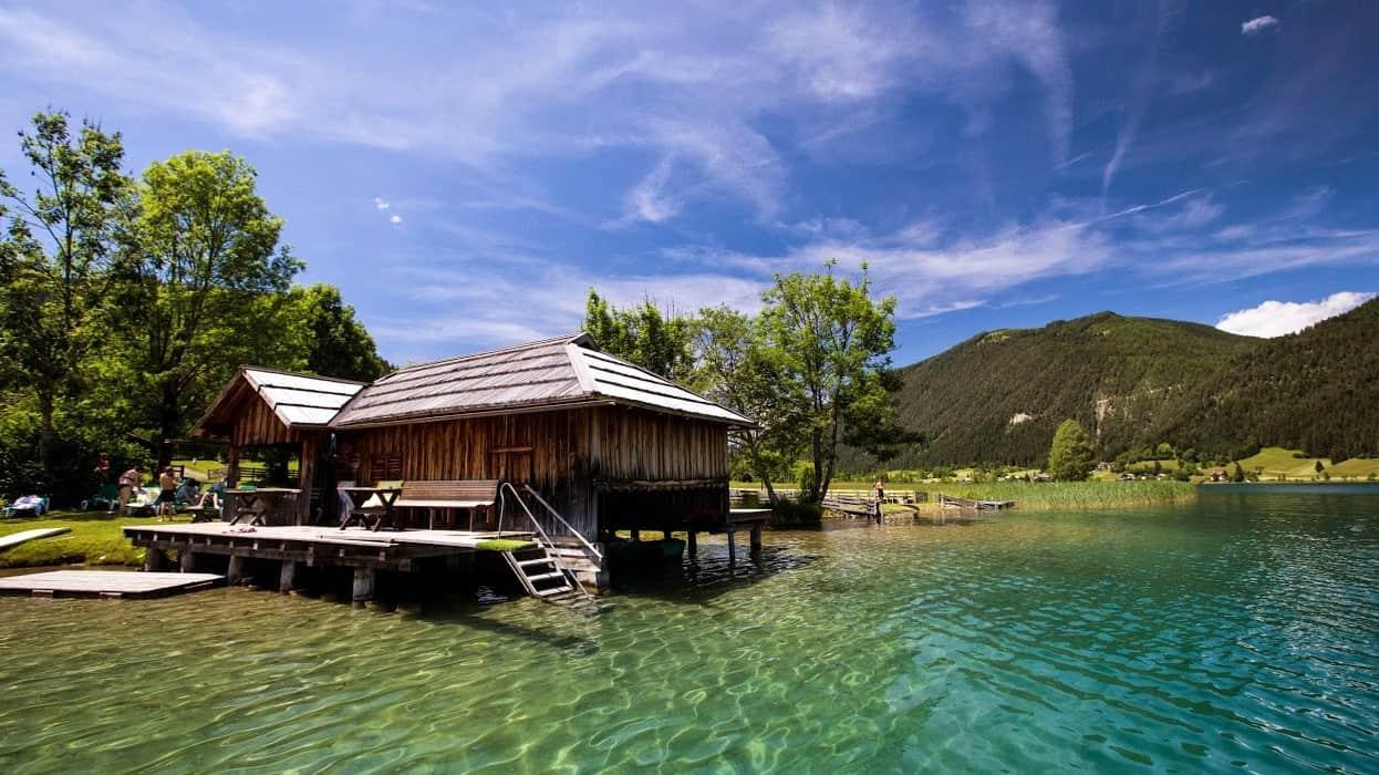 Weissensee Aktivitäten rund um den See