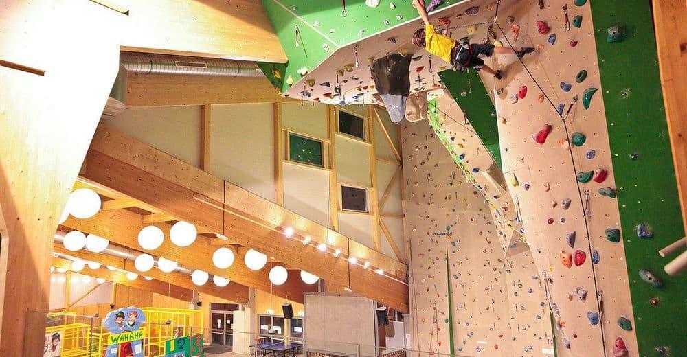 Kletterhalle und Indoor Kinderspielplatz im Winter geöffnet in Kärnten