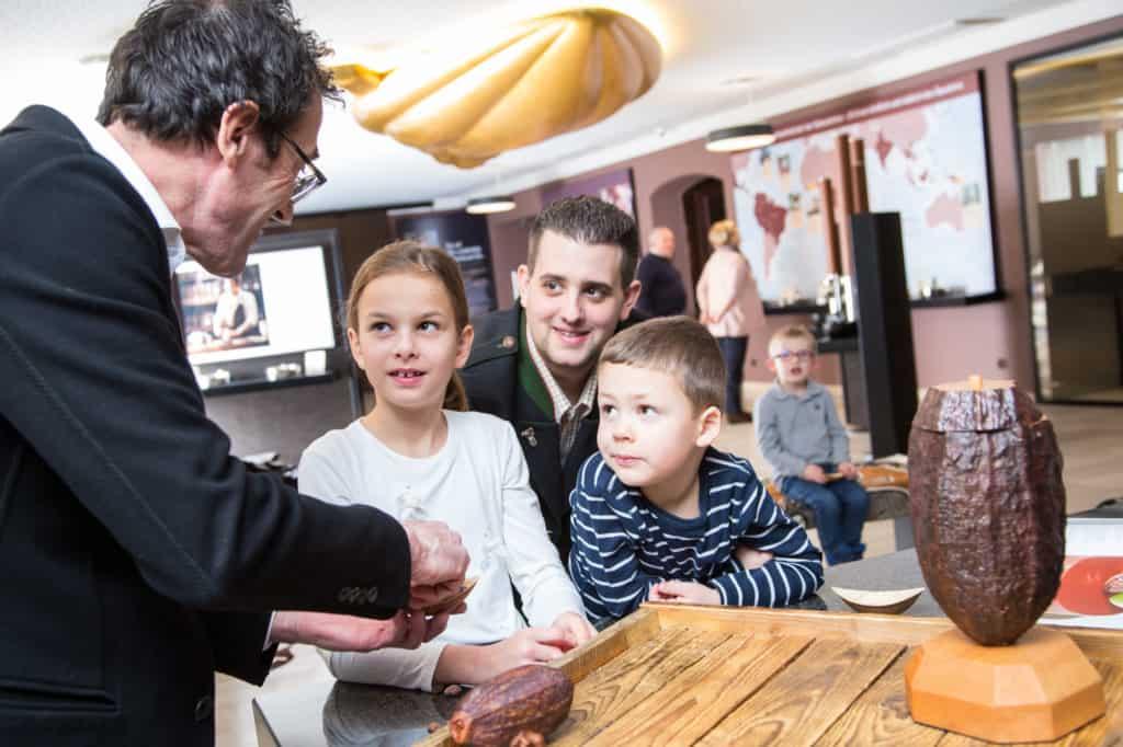 Winterausflug mit der Familie in die Schokoladen-Maufaktur Craigher in Kärnten